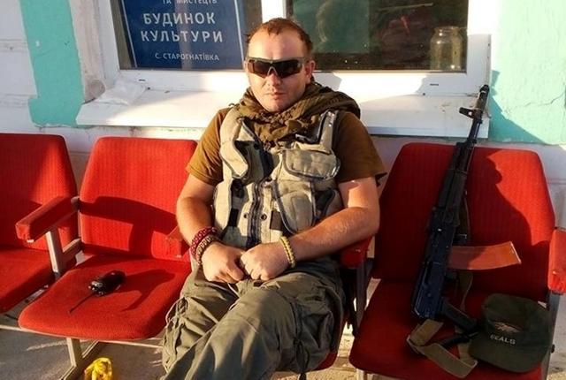 Роман Стойка - руководитель закарпатского «Правого сектора» (kp.ua)