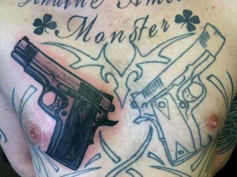 Ужасные татуировки, которые спас только перекрывающий рисунок (фото 7)