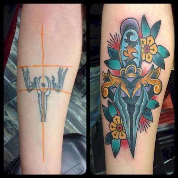 Ужасные татуировки, которые спас только перекрывающий рисунок (фото 9)