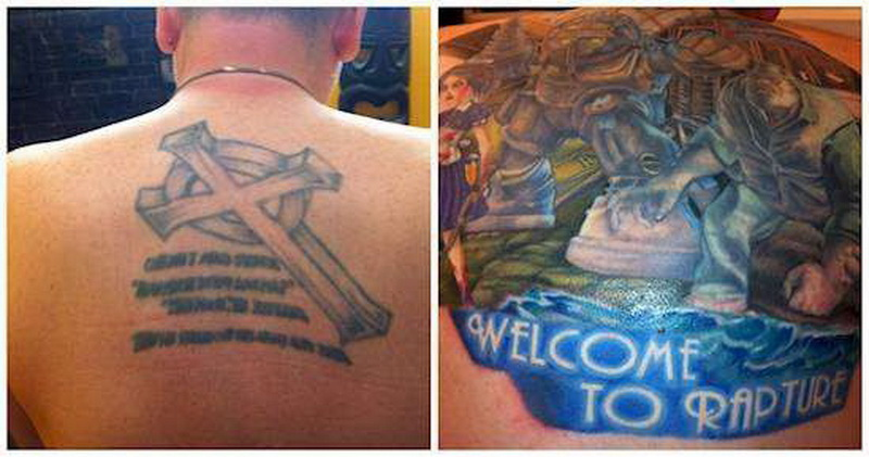 Ужасные татуировки, которые спас только перекрывающий рисунок (фото 11)