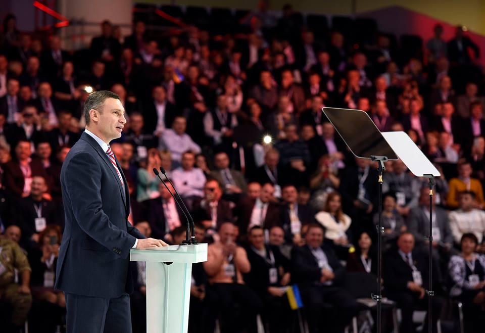 Кто-то еще помнит, что именно Кличко сейчас возглавляет «Солидарность»?