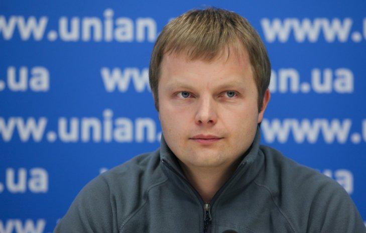 Новий лідер «Укропу» Денис Борисенко (фото: УНІАН)