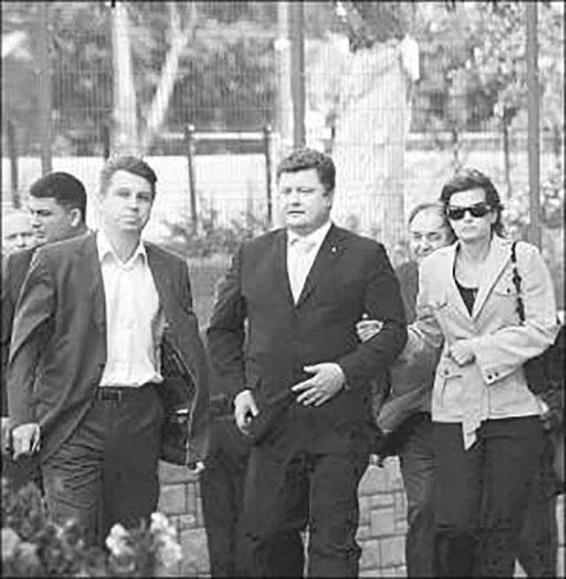 Архивное фото: Билык с семьей Порошенко в Виннице