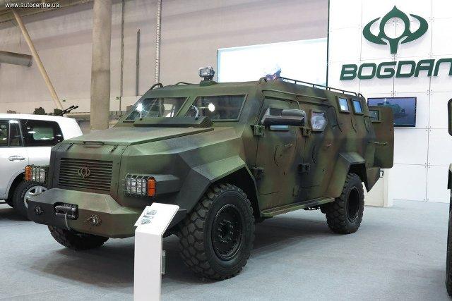 Бронеавтомобиль «Барс-8» корпорации «Богдан» (Источник: «Автоцентр»)