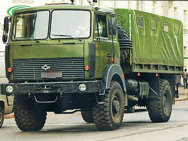 Бронированный грузовик «Богдан» на базе МАЗ (Источник: Military Navigator)