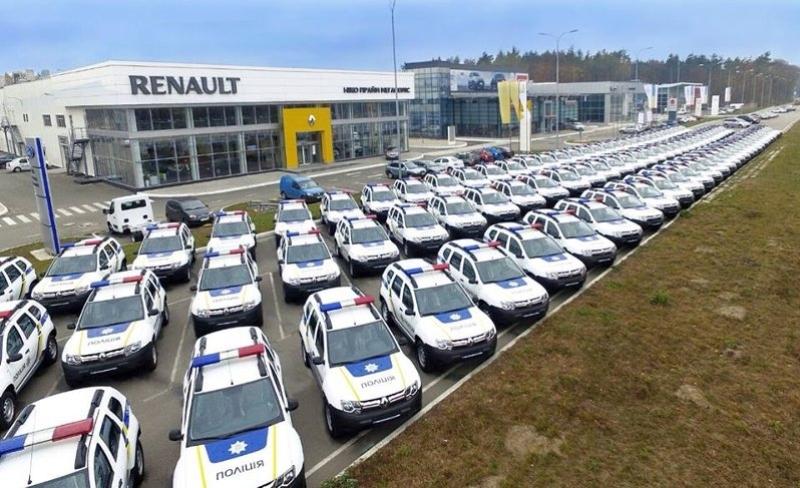 Renault Duster и Dokker для Национальной полиции