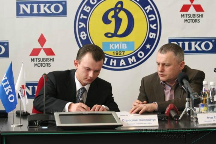 Станислав Николайчук (слева) и Игорь Суркис