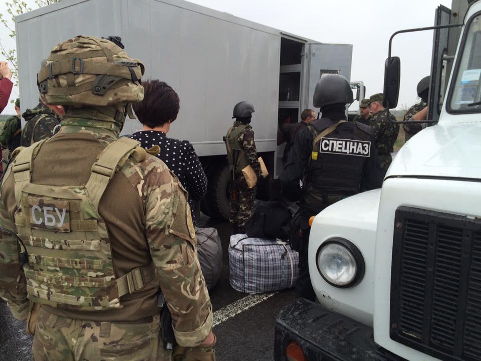 Боевики передали украинской стороне 20 осужденных