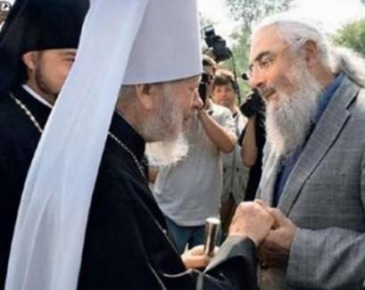 Віктор Нусенкіс и нині покійний митрополит Володимир